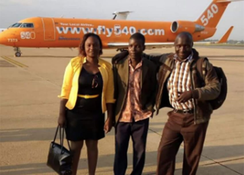 A plane ride is warmer than a chopper ride, Bungoma 'James Bond' speaks of first time in plane