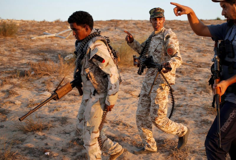 Libyan forces battle Islamic State snipers for streets of Sirte