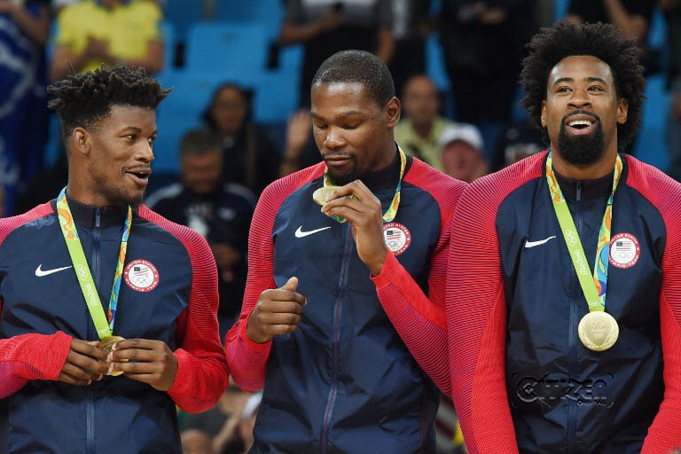 US NBA stars rip Serbia for third Olympics gold in a row