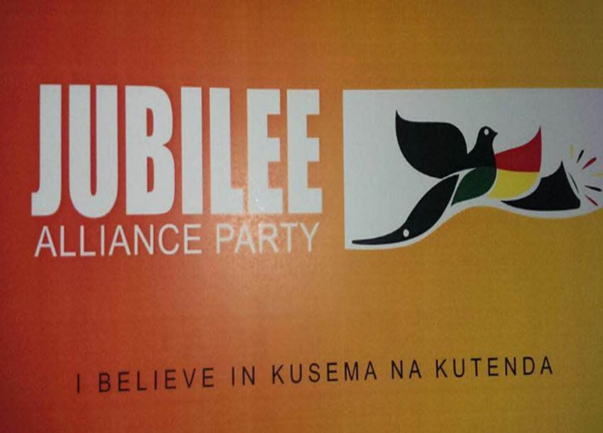 Jubilee Alliance Party set to be renamed Jubilee Party