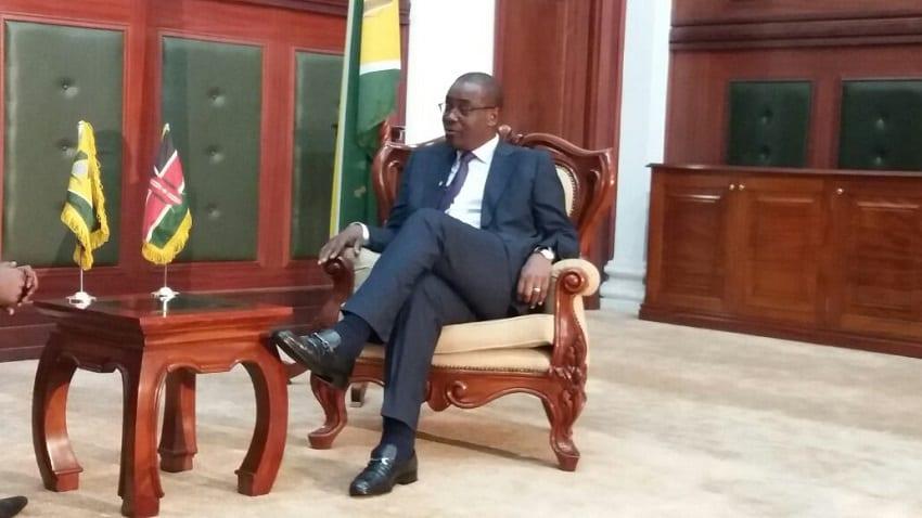 Ex-Nairobi Governor Evans Kidero declares interest in Homa Bay seat