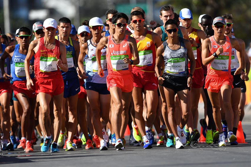 Kenyan walkers DNF as China takes 20km gold and silver