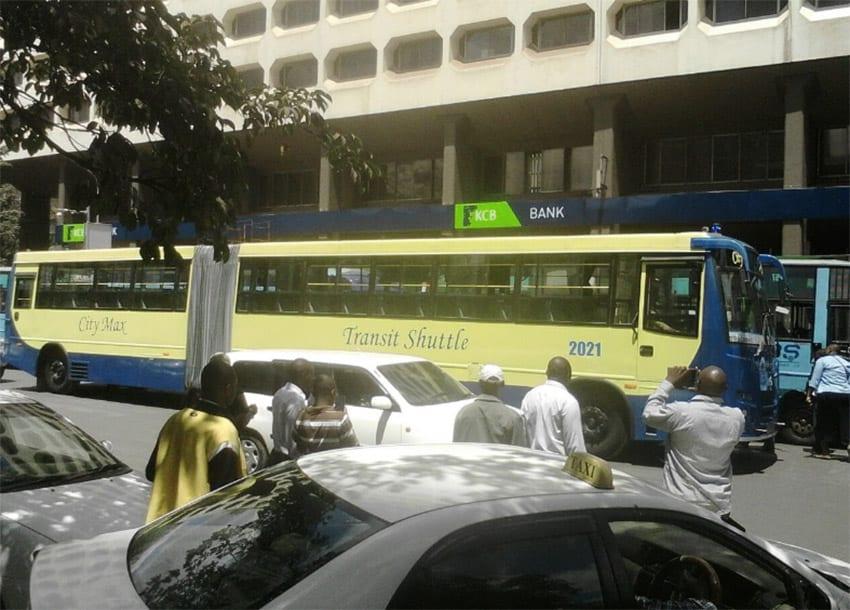 Long commuter bus
