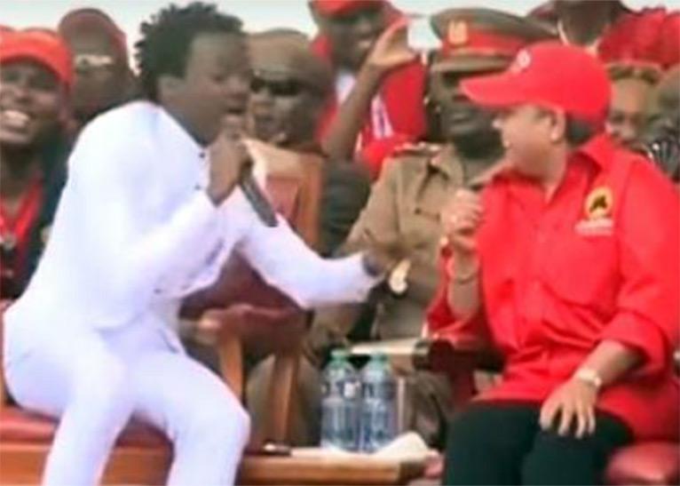 """Kenyans tear at Bahati for calling self """"shortest serving president"""""""