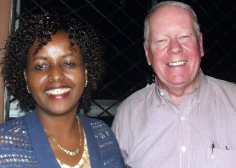 Former US envoy Michael Ranneberger pays dowry for Ruth Konchella