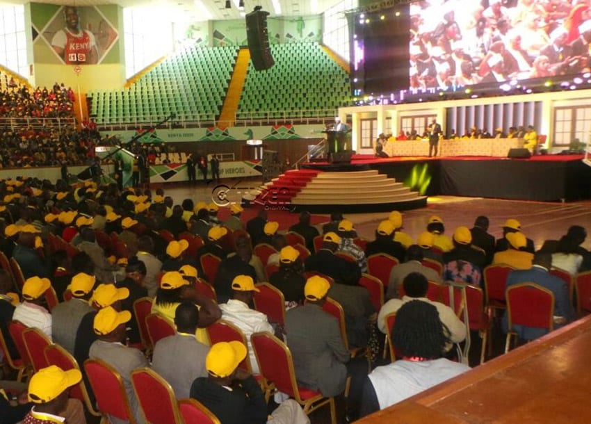 IN PICTURES: Delegates, leaders at Kasarani for URP conference