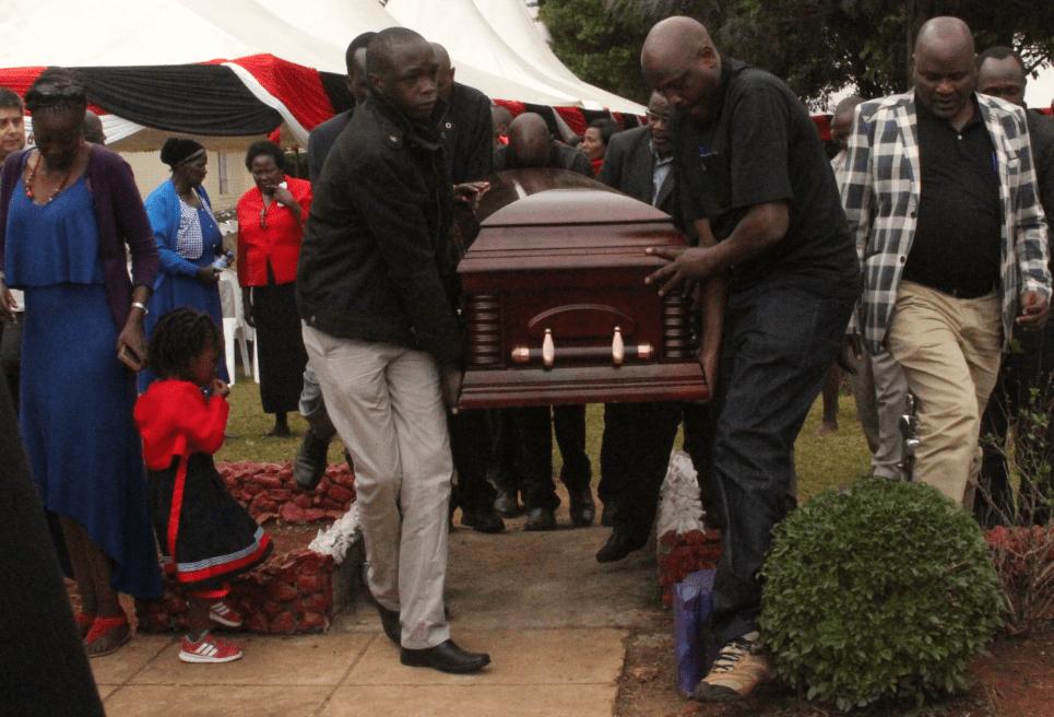 Heroic send off as AK boss Kiplagat is laid to rest