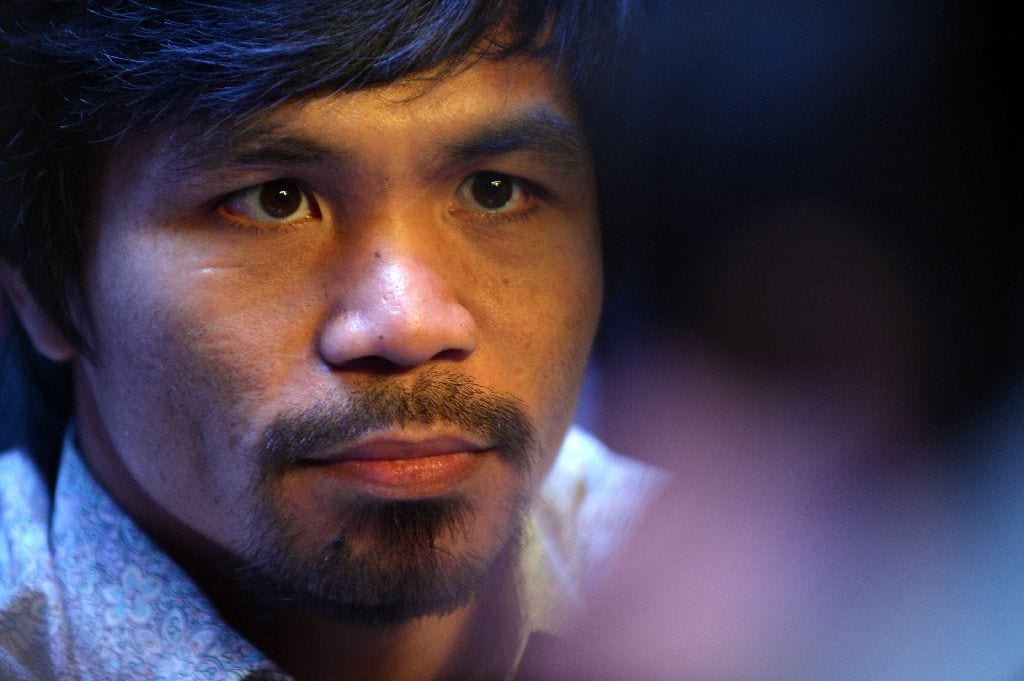Philippines' Pacquiao 'not sorry' for drug use