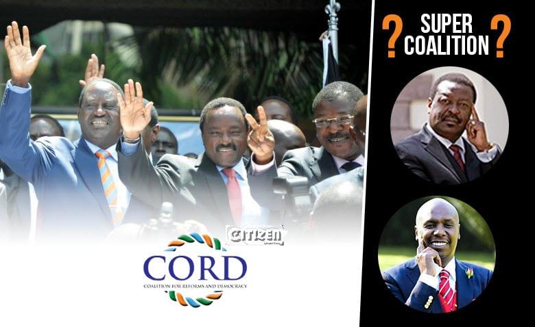 What a Mudavadi-Raila 'super alliance' means for Kalonzo, Wetangula