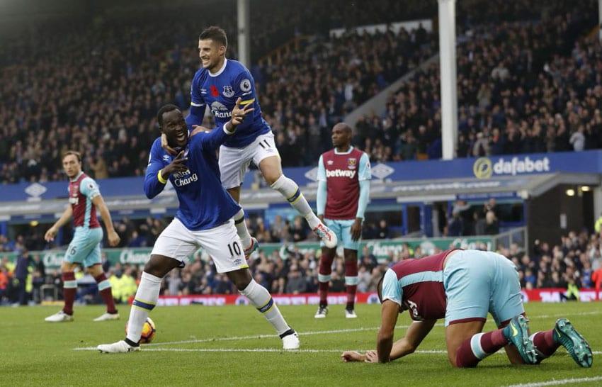 Barkley strikes as Everton sink West Ham United