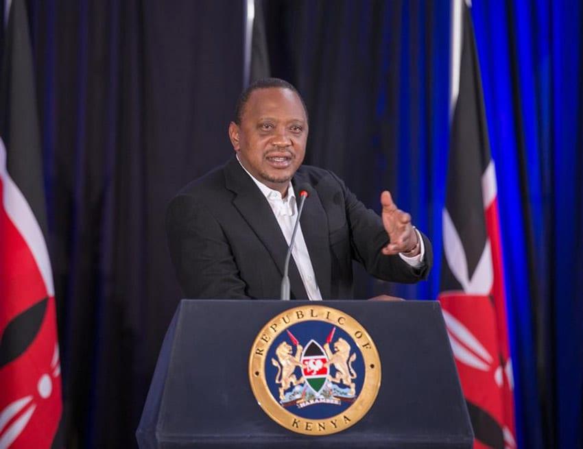 Uhuru opposes Raila's call for referendum