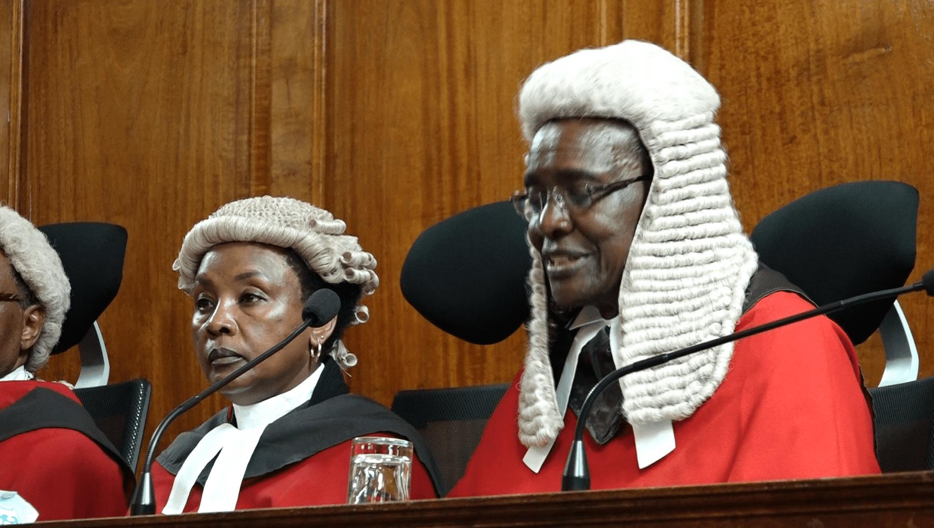 Maraga, Mwilu challenge President Kenyatta's lawyer on nominations