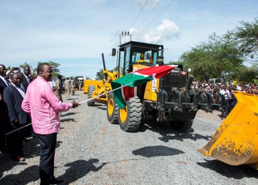 Uhuru tours Kitui, calls for unity of purpose