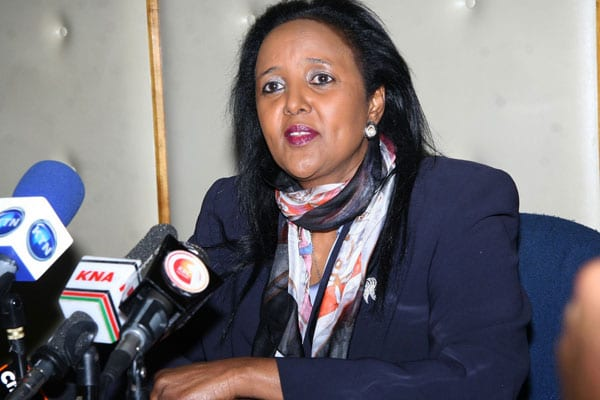 CS Amina orders defiant lecturers back to class