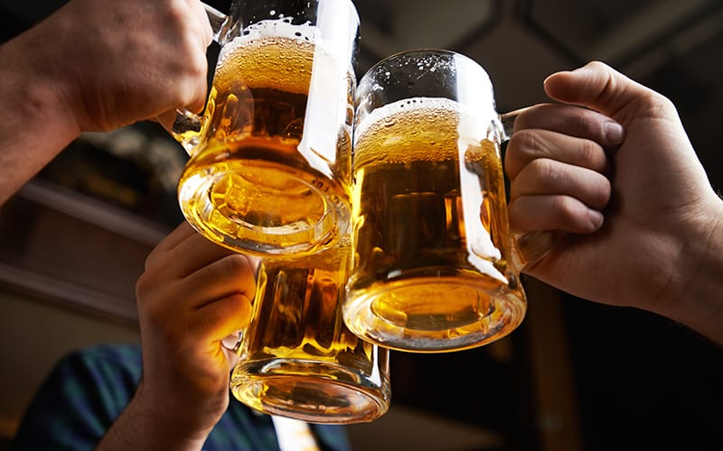 Heart benefit of alcohol not seen in people with liver disease