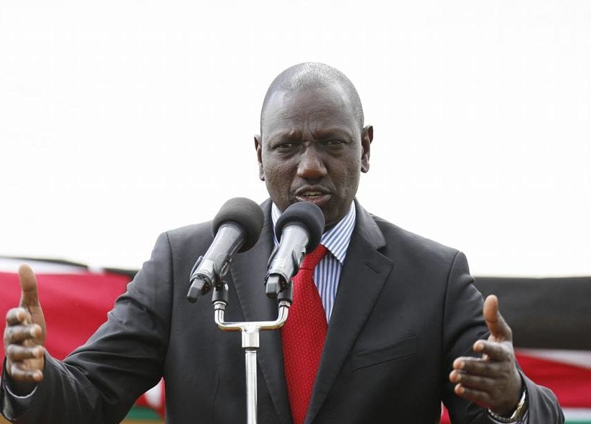 Ruto on Cabinet: I have no powers over who the president appoints