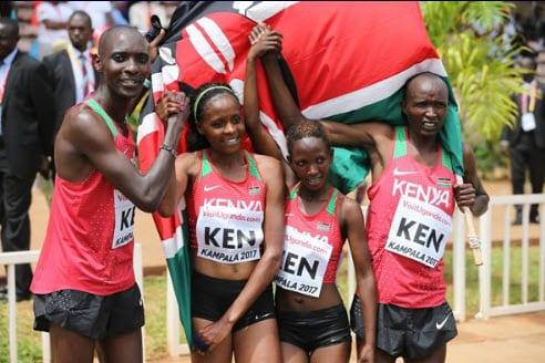 History as Kenya wins inaugural WXC Mixed Relay