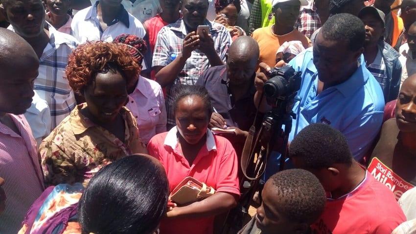 Kirinyaga residents defend Anne Waiguru from Ndathi's onslaught