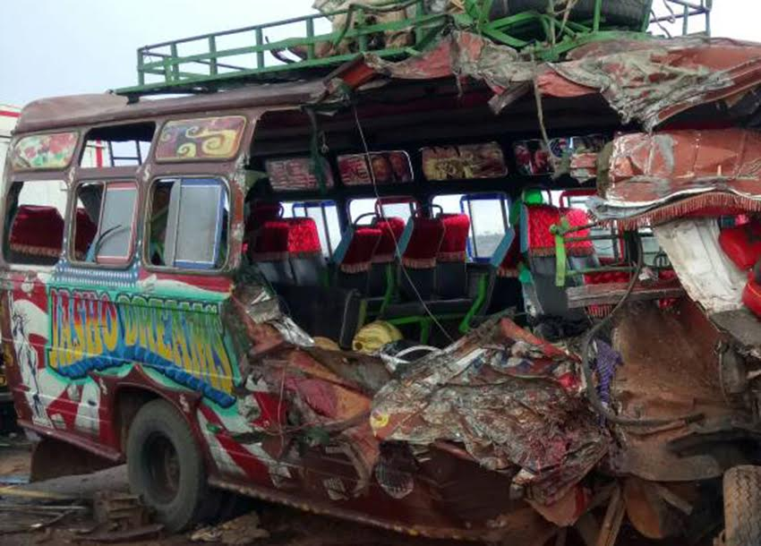 Eight killed, 12 others injured in grisly Makueni crash