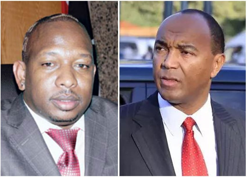 Recounting Sonko, Kenneth bitter match to Jubilee primaries
