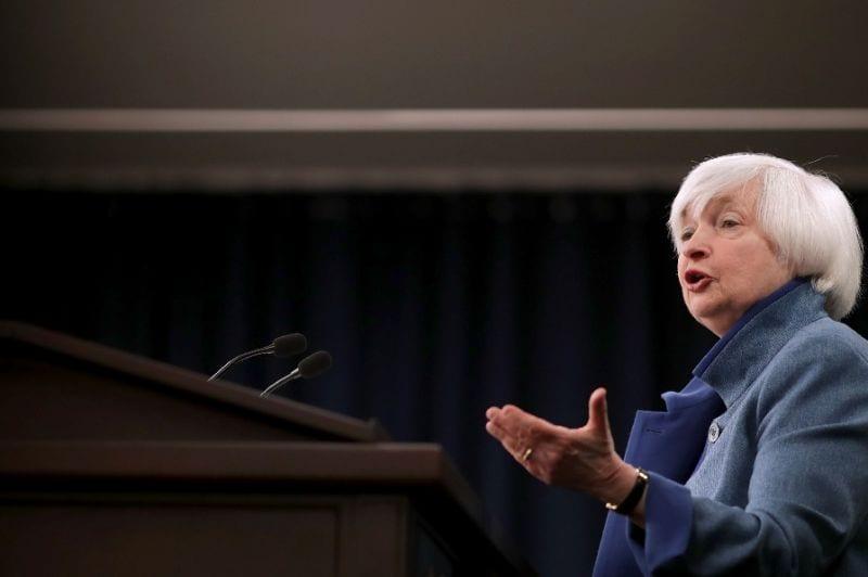 Yellen warns Fed's independence under threat