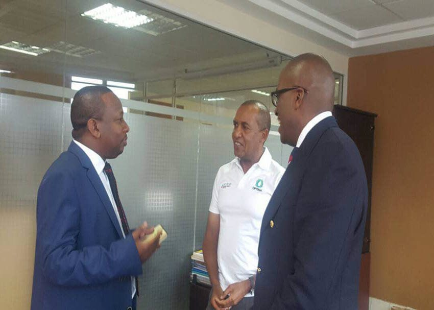 Senator Sonko picks Vivo boss Polycarp Igathe as running mate