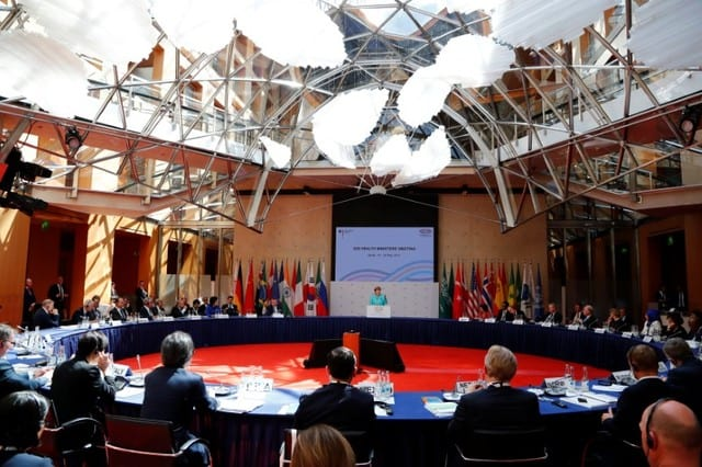 G20 health ministers agree to tackle antibiotics resistance