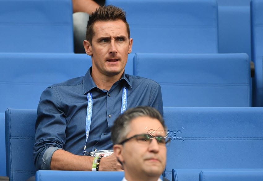 Goal-king Klose helps nurture German hot-shots