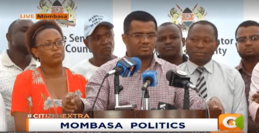 Senator Omar attacks Joho for 'bringing down' competitors billboards