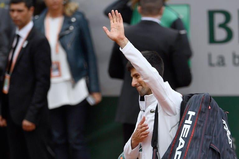 Djokovic insists not in freefall, ponders a break