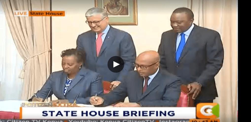 Uhuru launches Ksh 15B KBL brewing plant