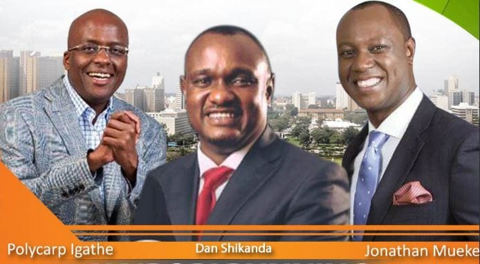 Kidero under fire as Sonko, Kenneth running mates bash him