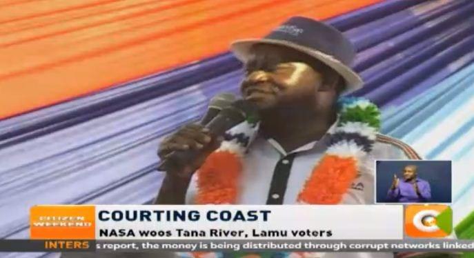Lamu curfew Jubilee ploy to create voter apathy: NASA