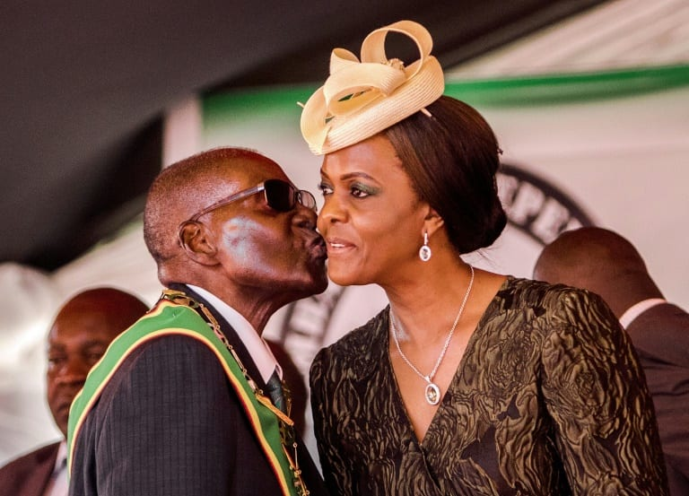 Gucci Grace: How Mugabe's mistress rose to power
