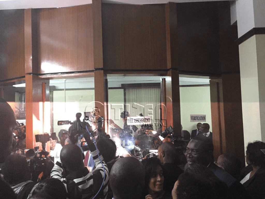 Kenya opposition lodges legal challenge to election