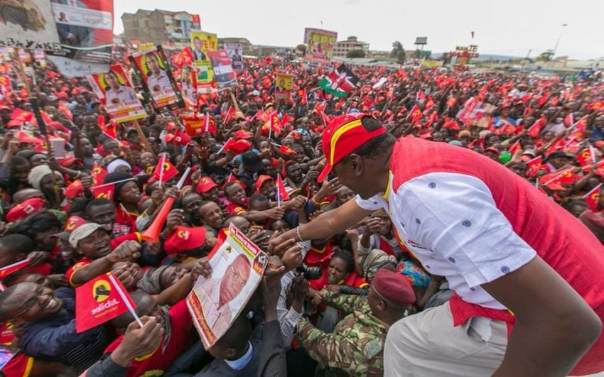 DP Ruto's five reasons why Jubilee deserves a second term