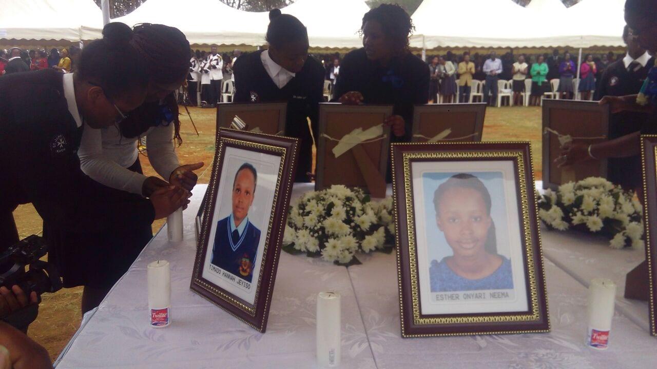 Requiem for Moi Girls students killed in dorm fire underway
