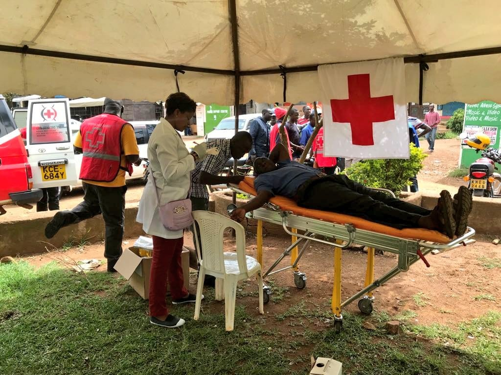 Red Cross appeals for blood donation in Nyanza