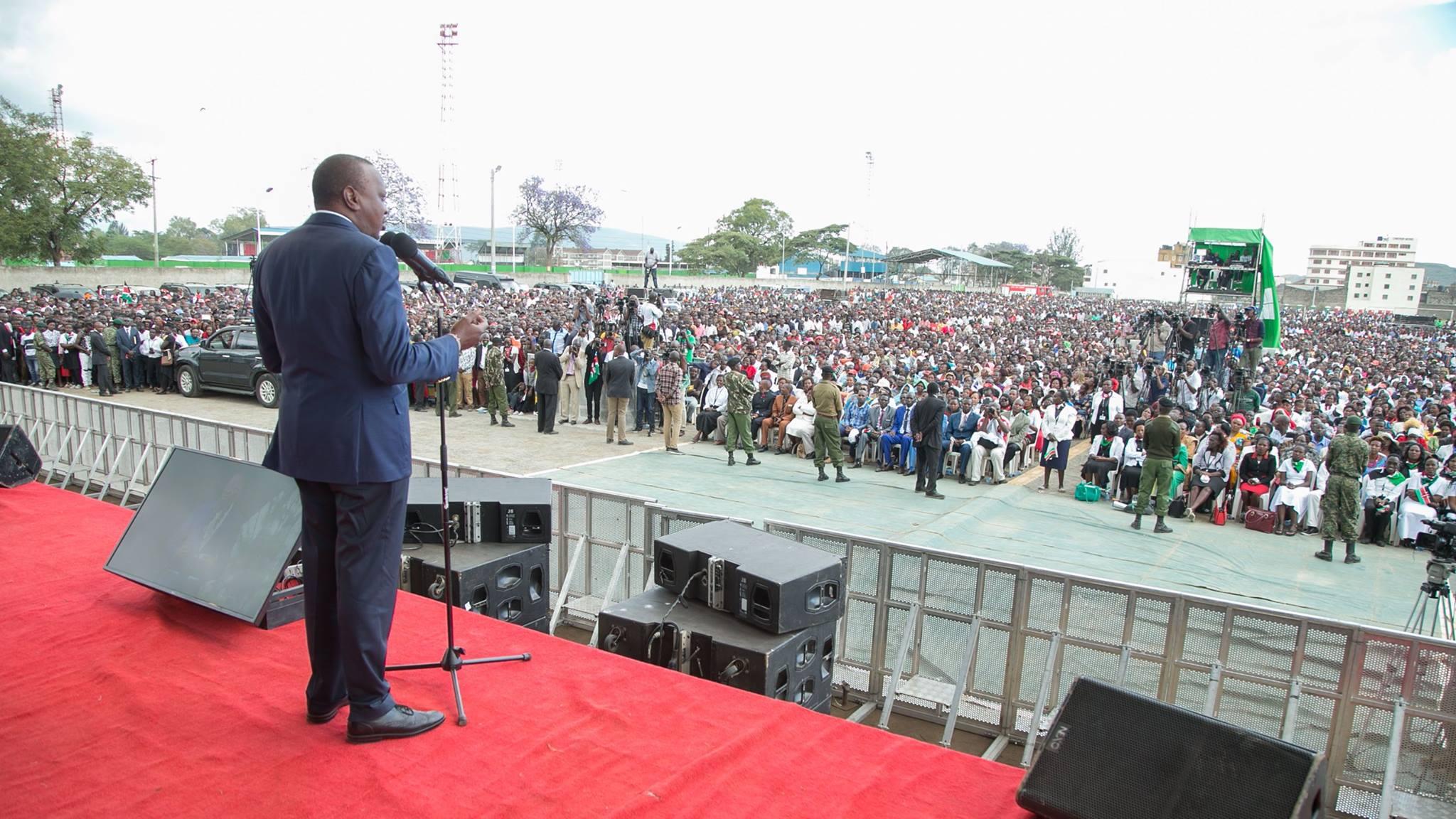 Uhuru's key message as he leads national prayers