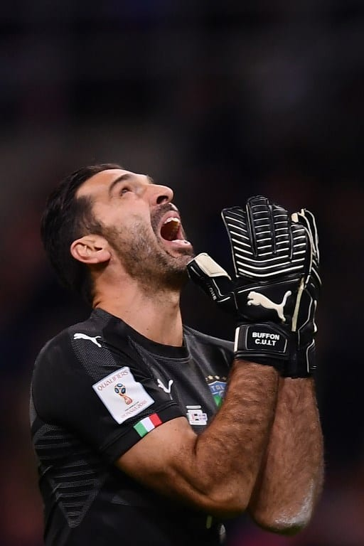Buffon quits as Italy suffer World Cup 'apocalypse'