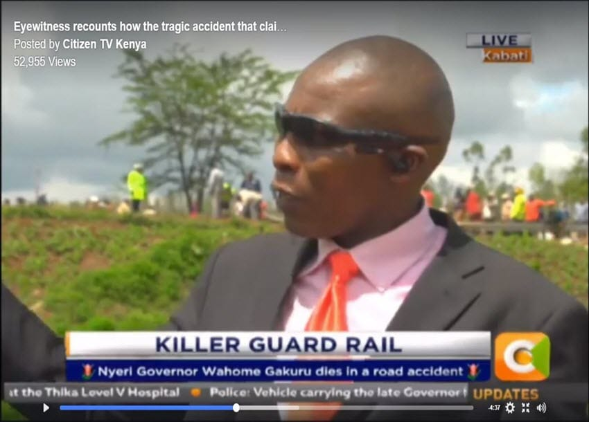 'Eyewitness' lied he was part of President Kenyatta's security – Ex-wife