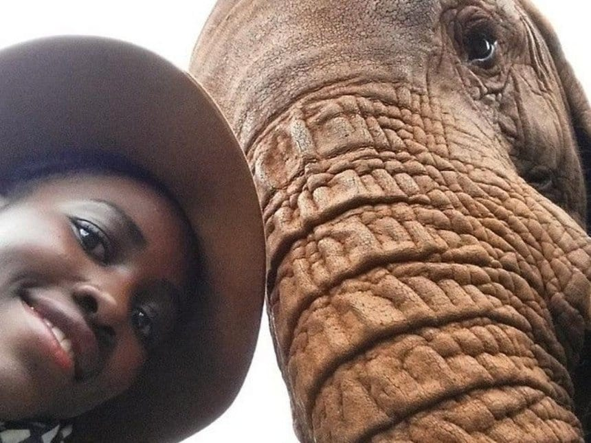 Kenya leads in selfies with wildlife animals