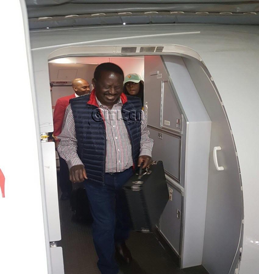 Raila's return, Zimbabwe coup among top 10 Google searches