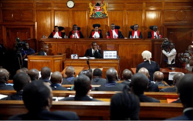 Issues Supreme Court judges considered to uphold Uhuru's victory