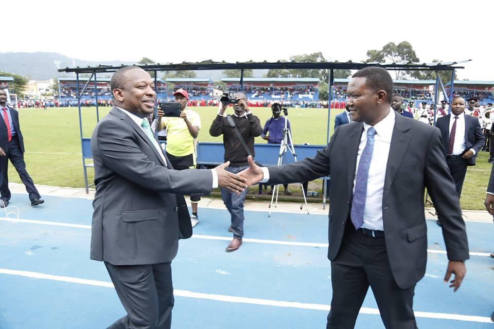Governors Sonko and Mutua ugly war