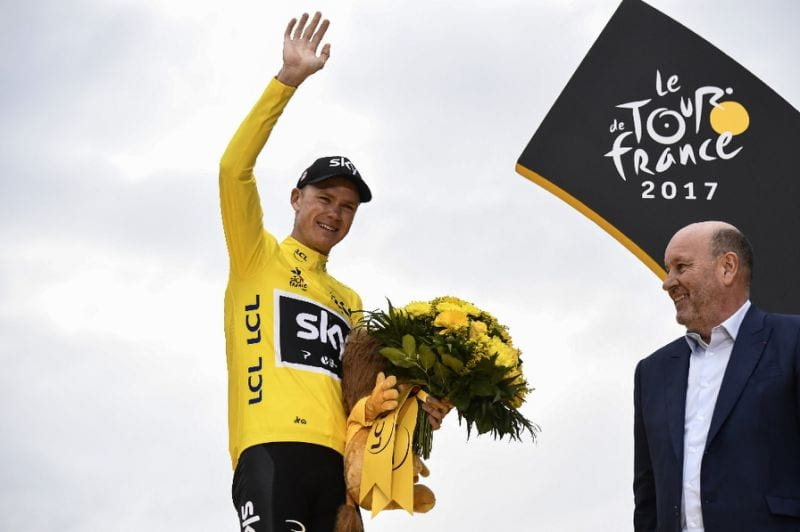 Froome said the UCI was
