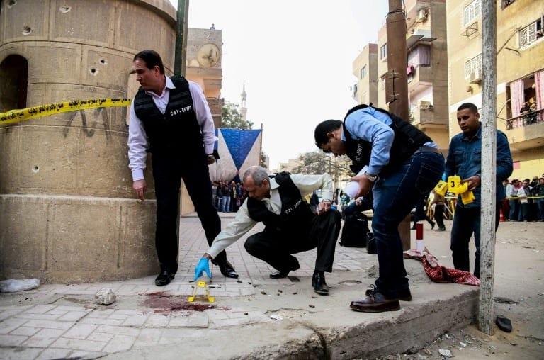 Gunman kills 9 in attack on Egypt church