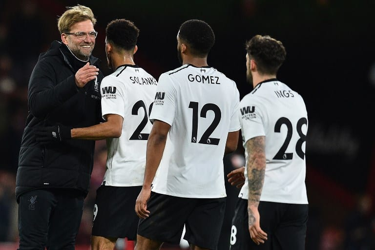 Klopp sets sights on top four finish