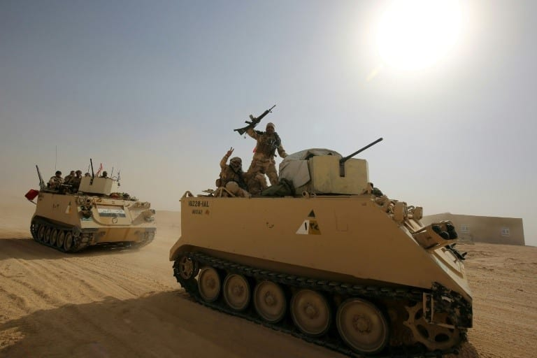 Iraqi PM declares 'end of war against IS' in Iraq