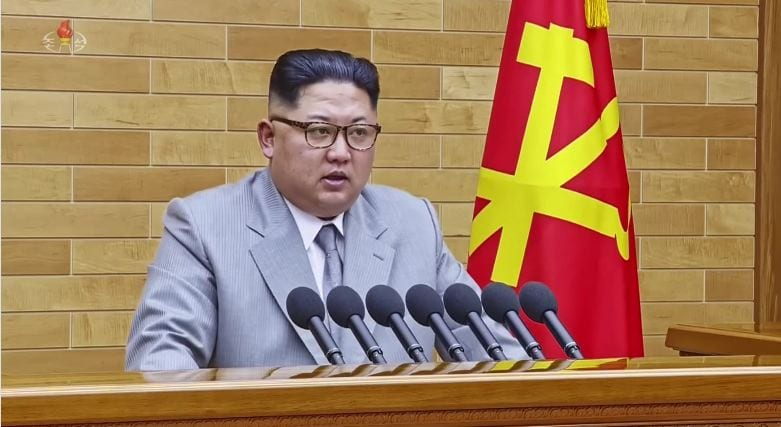 Kim Jong Un says 'open to dialogue' with South Korea, will only use nuclear weapons if threatened